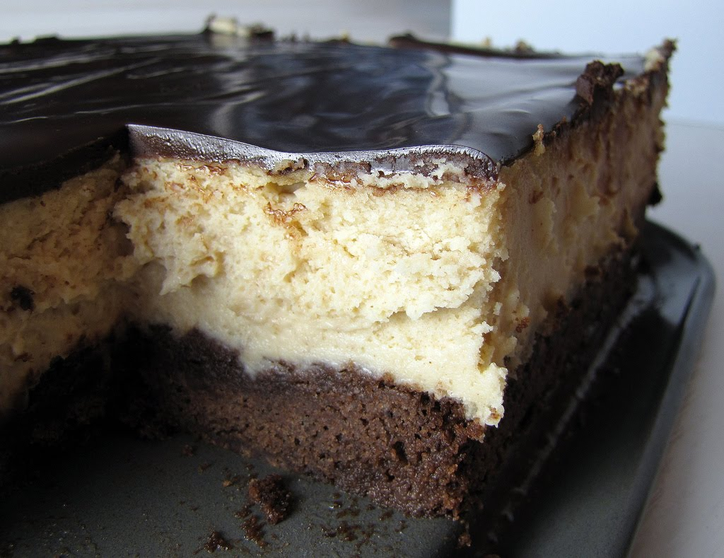 ... Dolce - sweet sugar: Peanut Butter Cheesecake with a Brownie Crust
