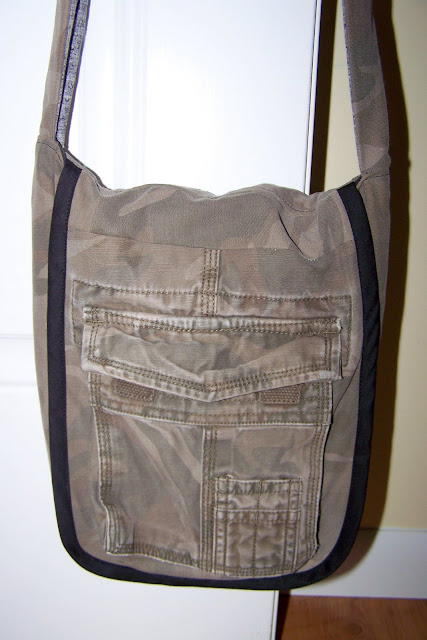 A Bag for Camo Boy and Speaking Of….
