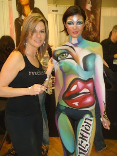 Serbian Body Painting