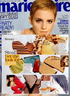Mehron Makeup in Marie Claire Magazine