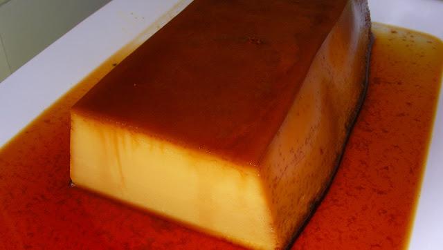 La cocina no es lo mio receta flan casero de queso - Flan de huevo al bano maria en olla express ...