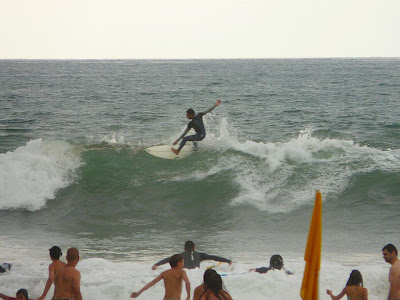 Sesión de surf del 06 de Agosto del 2008 - Sopelana