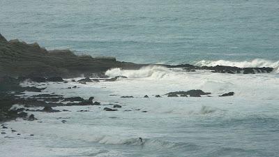 Sesión de surf del 22 de Octubre del 2008 - Azkorri