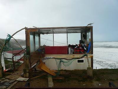 El temporal del 24 de Enero arrasa Bizakia