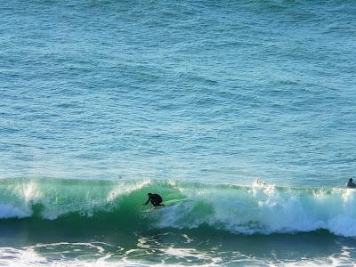 Sesion de surf 13 de Febrero del 2009 - La Salvaje - Sopelana- pincha para ampliar