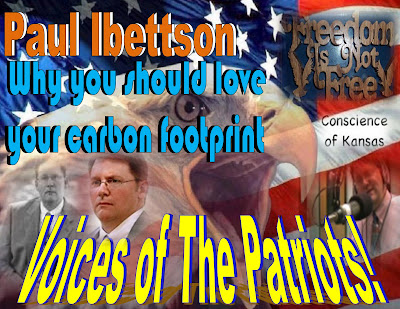 Voices Of The Patriots -  Paul Ibettson - Why you should love your carbon footprint