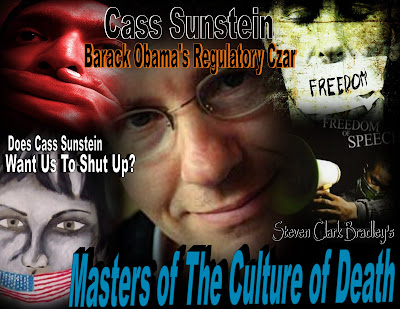 Does Cass Sunstein Want Us To Shut Up?