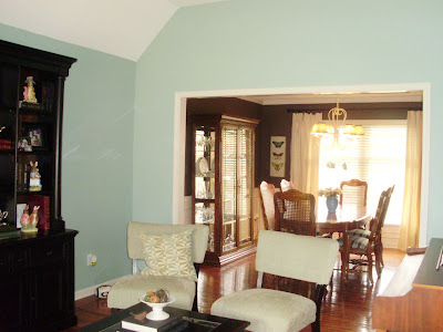 Popular Living Room Paint Colors on Living Room And Brown Walls In Her Dining Rooms   Nell Hill S Paint