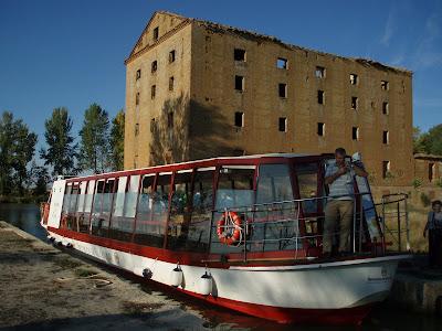 Exclusa de Tamariz, Canal de Castilla
