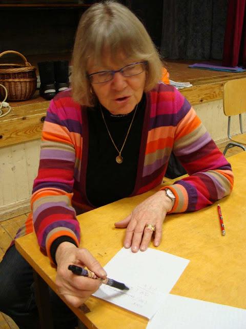 Monica von Bonsdorff kollar listan