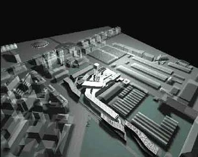 Architettura effimera progetti zaha hadid maxxi roma for Biblioteca maxxi