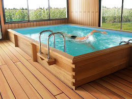 Swimform bassin de nage nage a contre courant spa de - Mini piscine spa de nage ...