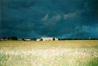 Pre-storm Ohio sky