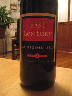 bottle of 21st Century Schizoid Ale