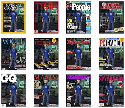 Coviertete en portada de revista con Mag My Pic