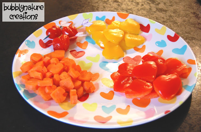 vv9 Tuesday Tutorial: Valentine Veggies and Roasted Pepper Hummus