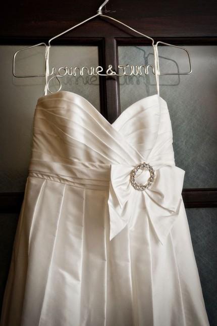 Anyway weddings etsy 39 s best wedding dress hangers for Bride wedding dress hanger
