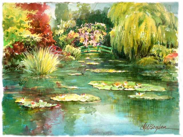 obras de monet. las obras de Monet