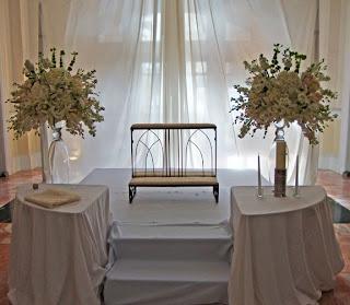 Altar centerpieces