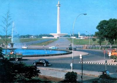 Monas, Jakarta 1969