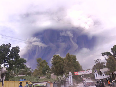 Merapi eruption 2010