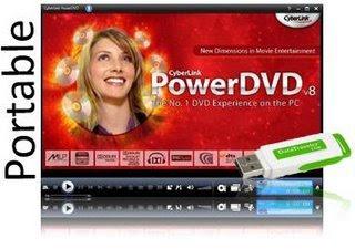 Cyberlink PowerDVD v8.0 Deluxe Multilingual (Portable)