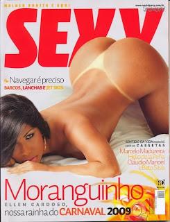 Revista Sexy - Ellen Cardoso (Mulher Moranguinho) Fevereiro 2009