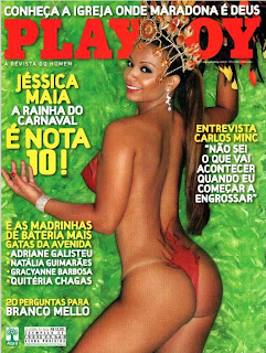Playboy - Jéssica Maia - Fevereiro de 2009