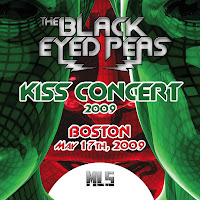 The Black Eyed Peas - Kiss Concert Live (2009)