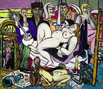 Max Beckmann  -  La ville - 1950