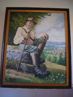 Henry Pourrat peinture de Pyleire