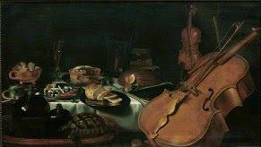 Pieter Claesz, Nature morte aux instruments de musique