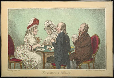 James Gillray - two penny whist