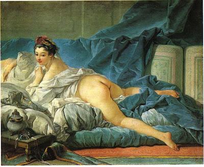 François Boucher - l'Odalisque Brune