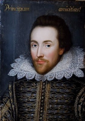 William Shakespeare - Cobble portrait -1609