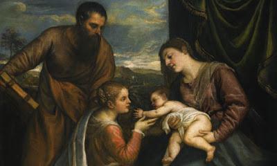 titien 1490-1576  -  A Sacra Conversazione