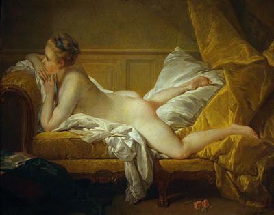 François Boucher 1703-1770  Marie-Louise O'Murphy