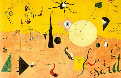 Joan Miro-  Catalan Landscape (The Hunter), 1923-24