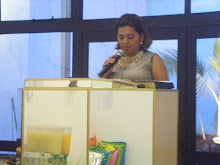 Pra Miriam Ministrando a Palavra na Sede Lapa