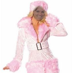 Pantera de cor de rosa
