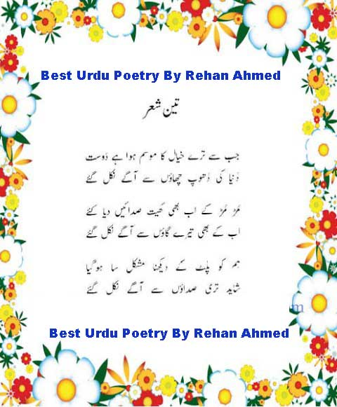 All About Urdu Adab: August 2010
