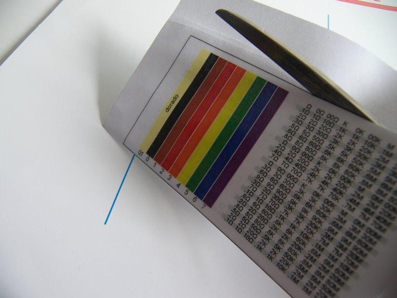 Resistencia el ctrica c digo de colores marianafisica123 - Plastico autoadhesivo ...