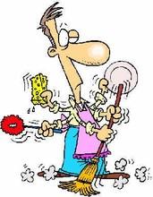 Mis costillas raras hombre limpiando - Trabajo limpiando casas ...