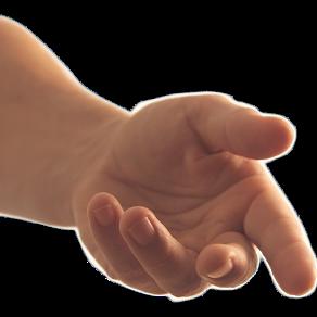menghulur tangan