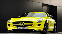 Mercedes SLS E Cell