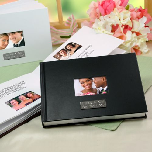 Polaroid Guest Book Station: Classic Creations: Real Wedding Inspiration: Polariod
