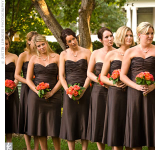 Classic creations november 2010 for Bridesmaid dresses for november weddings