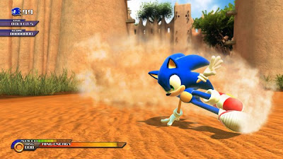 First look sonic unleashed PS3 Xbox 360 character