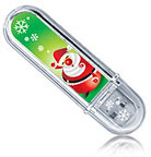Christmas Pattern Data Flash Drive