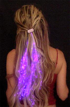 Shiny Glowbys Illuminating hairs